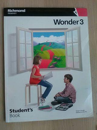 wonder 3 student 's book. isbn 9788466810371