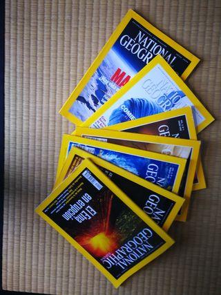 revistas NATIONAL GEOGRAPHIC 7 unidades