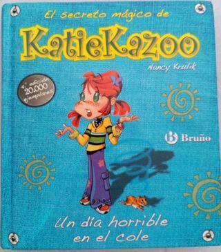 Libro infantil de Katiekazoo +9 años