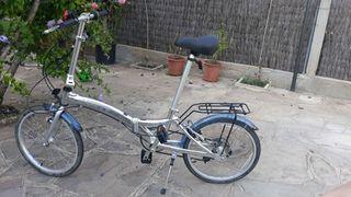 Monty bicicleta plegable