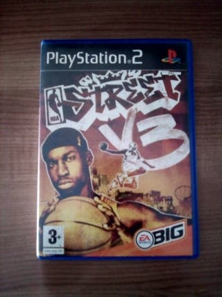 Juego ps2 nba street vol 3