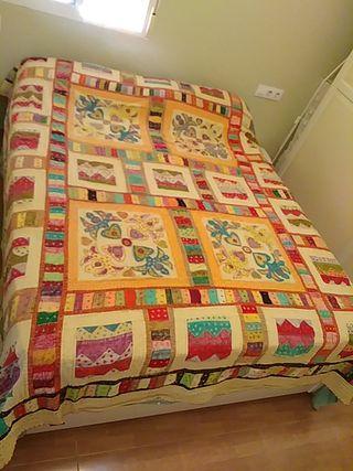 Colcha tapiz india