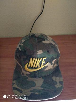 gorra nike militar camuflaje