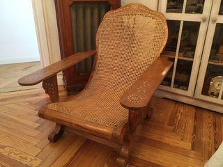 Clásico sillón filipino