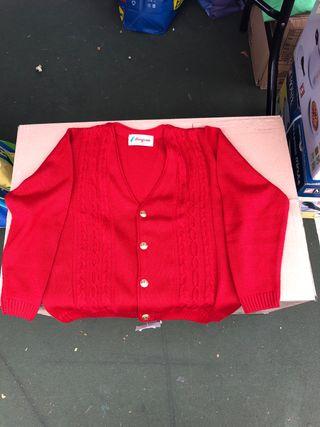 Jersey rojo niño