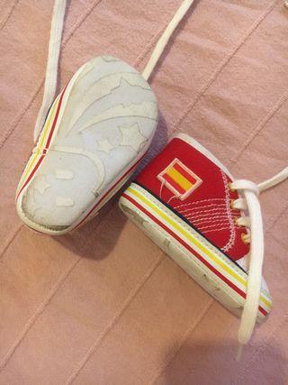 Zapatos estilo All Star bebé España