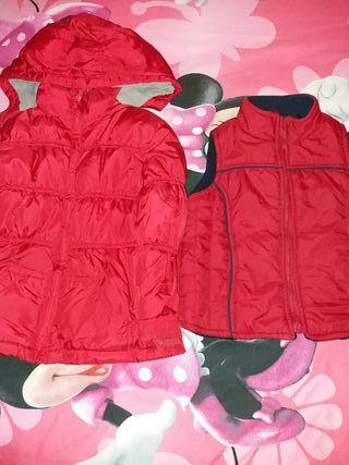 Lote de ropa otoño-invierno talla 3-4 años