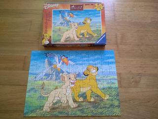 Puzzle rey leon