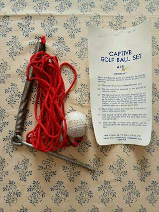 bola de golf entrenamiento