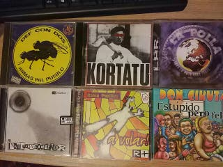 lote cds punk rock