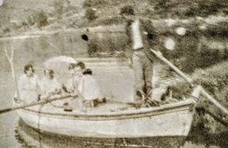 Antigua Foto de albúmina