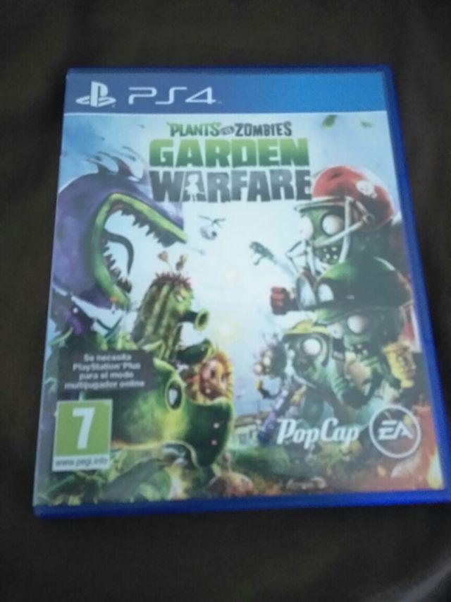Plantas Vs Zombies Garden Warfare Juego Ps4 De Segunda Mano Por 7