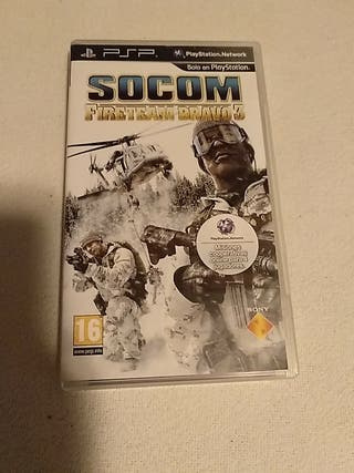 Juego PSP Socom