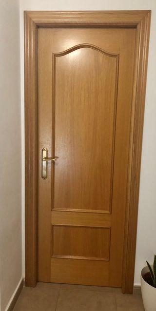 Puertas de interior macizas de segunda mano por 20 en cerda en wallapop - Puertas macizas interior ...