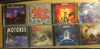 lote cds rock/metal