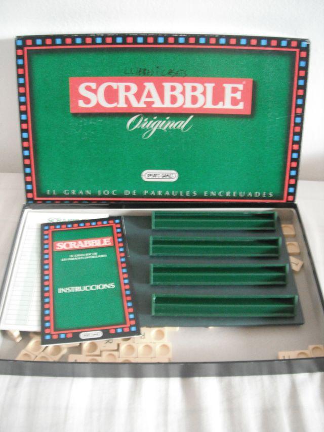 Juego De Mesa Scrabble En Espanol De Segunda Mano Por 10 En Pineda