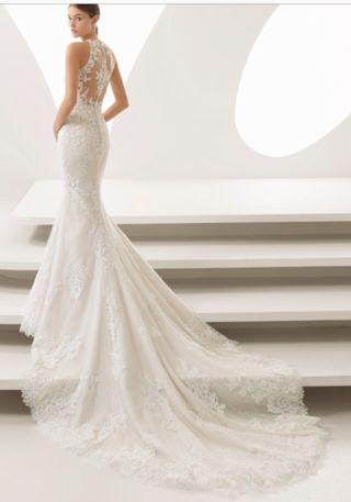 vestido de novia talla 38 de segunda mano en huesca en wallapop