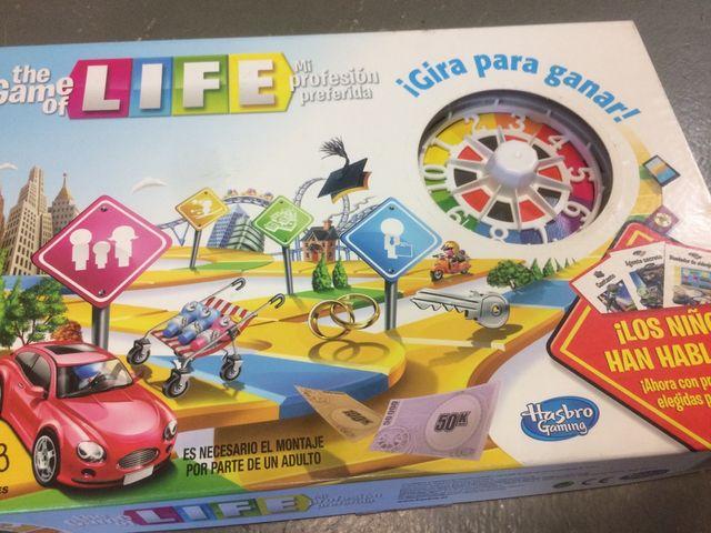 Juego De Mesa Life De Hasbro De Segunda Mano Por 5 En Manresa En