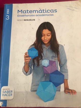 Matemáticas enseñanzas aplicadas 3ºESO