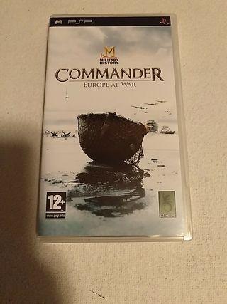 Juego PSP Commander