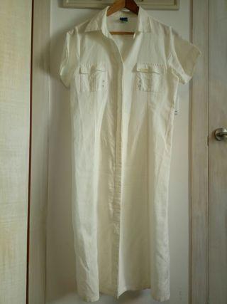 Vestido camisero talla L