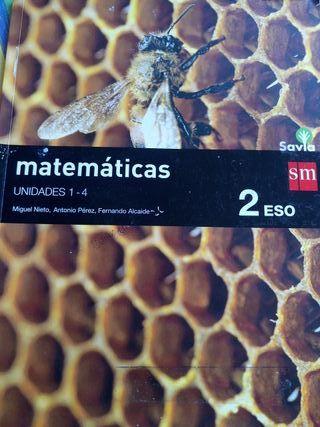 libro primer trimestre de matemáticas 2 ESO