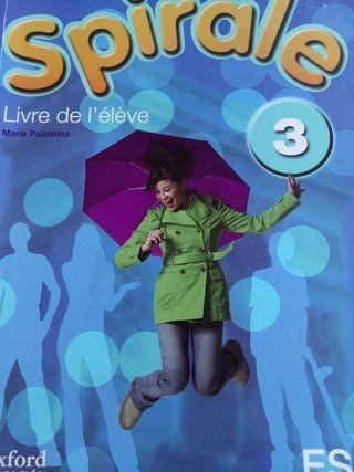 Libro de francés 3 Eso editorial Oxford