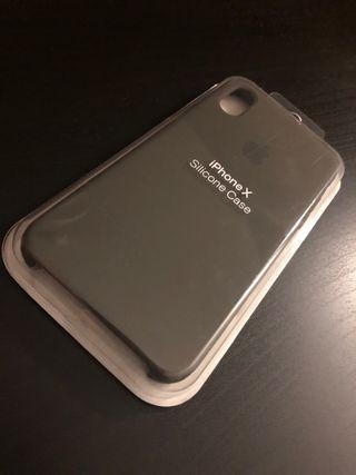 Funda iPhone X Verde Olivo Original Apple