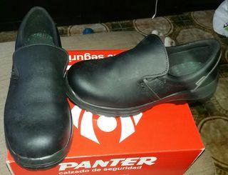 Panter Zapatos negros de seguridad