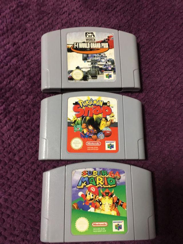 Juegos Nintendo 64 De Segunda Mano Por 25 En Rutis En Wallapop