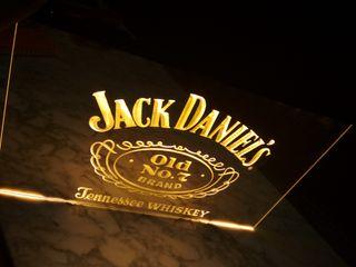 Cartel luminoso Jack Daniels