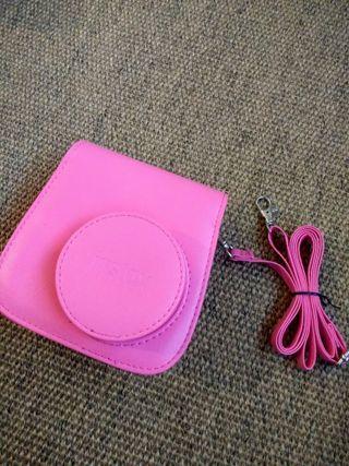 Pink instax mini 8 camera case