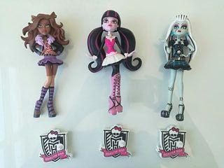 Muñecas Monster High (lote 3)