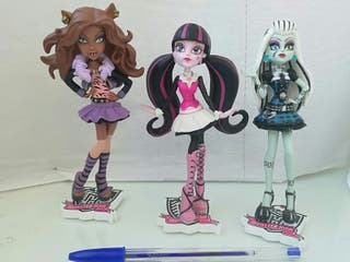 Muñecas Monster High (lote 3)