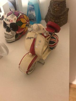 Moto vespa ceramica