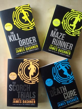 The Maze Runner books saga