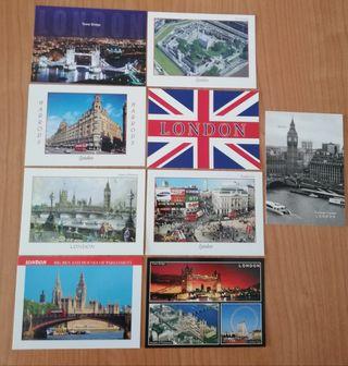 postales Londres.