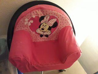 Sillón bebé niña Minnie