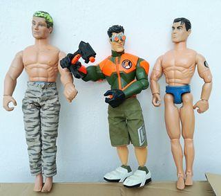 Muñecos colección antiguos ACTION MAN.