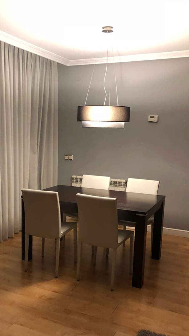 Elegante y moderna lámpara de techo para comedor de segunda mano por ...