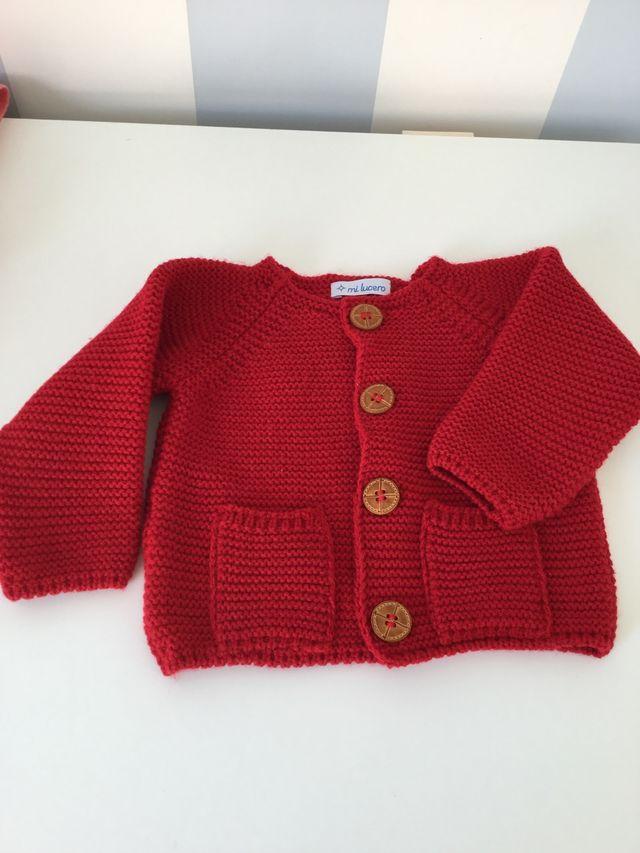 c82d0d8644a4 Rebeca/Chaqueta punto bebé 6/9 meses de segunda mano por 10 € en ...