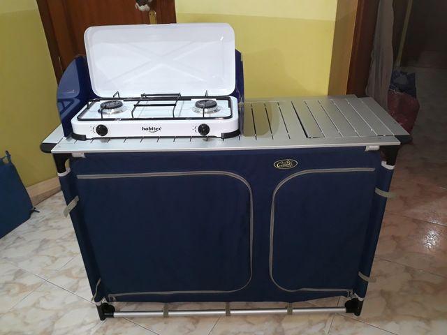 Mueble cocina camping de segunda mano por 90 € en Agramunt ...