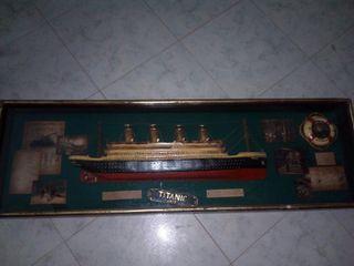 Maqueta antigua de El Titanic
