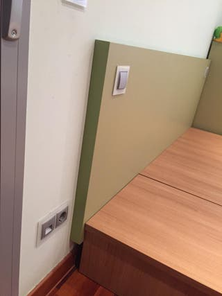 Mueble de cama tipo tatami