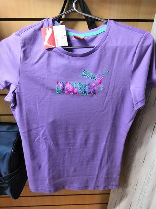 camiseta niña Puma talla 12