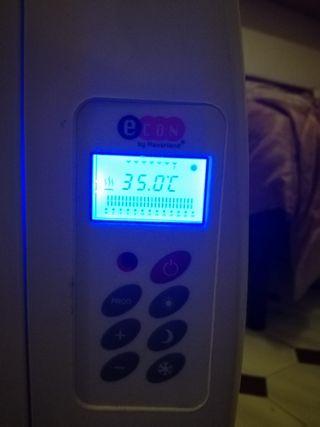 2 radiadores vajo consumo 1 invierno de uso