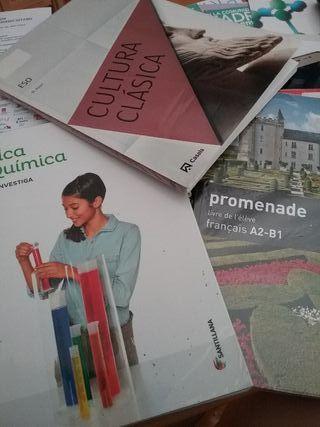 Libros 4to ESO