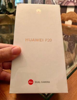 Huawei P20 Negro 128Gb NUEVO (NO ES EL PRO)
