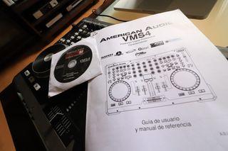 american audio vms4 1 segunda mano