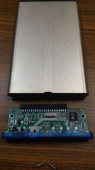 """caja externa para disco duro IDE 2,5"""""""